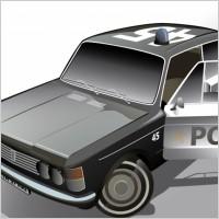 Link toFiat police car