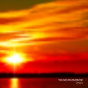 Link toFiery red sunset background art 02 free