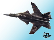 Link toFighter jet vector graphics free