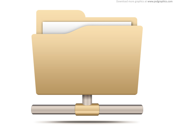 Link toFile sharing icon (psd)