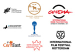 Link toFilm festival signs four vector