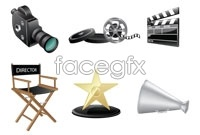 Link toFilming equipment vector artwork s