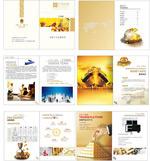 Link toFinancial business book vector