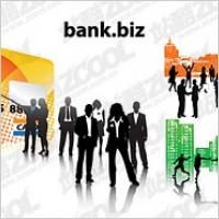 Link toFinancial elites vector silhouette material