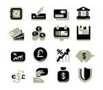 Link toFinancial icon vector