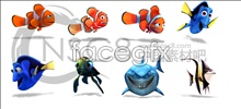 Link toFinding nemo clown fish icon