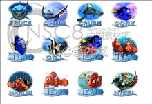 Link toFinding nemo icons