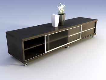 Link toFine furniture, solid wood cabinet tv cabinet 3d model