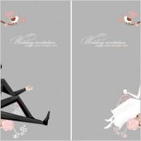 Link toFine line of wedding background draft 01 vector