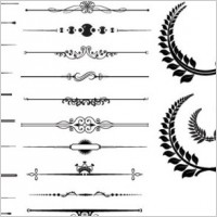 Link toFine pattern border 02 vector