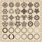 Link toFine round pattern vector