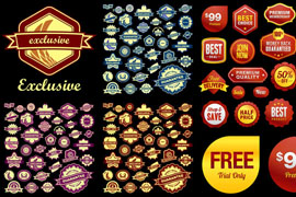 Link toFine sale tag vector