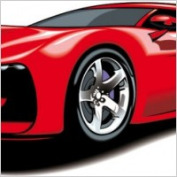 Link toFine sports car 03 vector