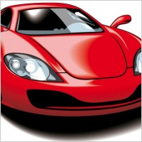 Link toFine sports car 05 vector