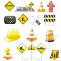 Link toFine vector construction traffic icon