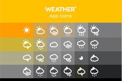 Link toFine weather icon vector