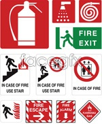 Link tovector mark safety Fire