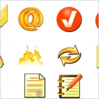 Link toFire toolbar icons icons pack
