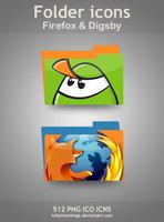 Link toFirefox + digsby folders