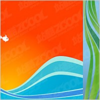 Link toFish vector illustration background material