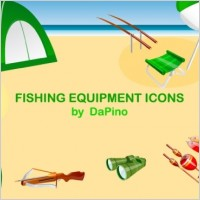 Link toFishing equipment icons