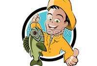 Link toFishing image vector sign
