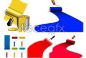 Link toFive paint vector