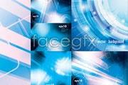 Link toFive tech blue background vector