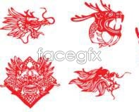 Link toFive traditional-style leading paper-cut vector designs