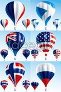 Link tovector balloon air hot a Flags