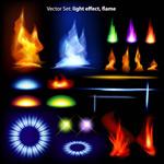 Link toFlames game elements vector