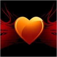 Link toFlaming heart wings