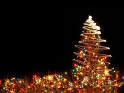 Link toFlashing christmas tree picture material