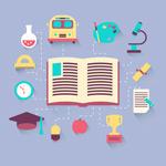 Link toFlat campus icon vector