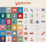 Link toFlat design icons vector