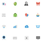 Link toFlat icons pack vector