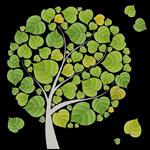Link toFlattened tree leaves vector
