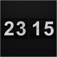 Link toFlip wall clock psd