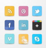 Link toFlippa social icon set (psd)