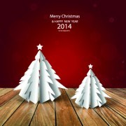 Link toFloor and christmas background vector set 04