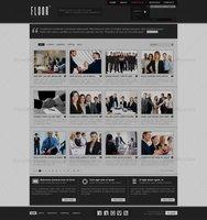 Link toFloor psd theme - portfolio - full layers