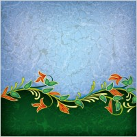 Link toFloral background 01 vector