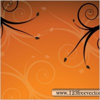Link toFloral background vector