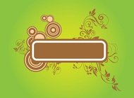 Link toFloral banner vector free