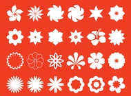Link toFloral blossoms set vector free