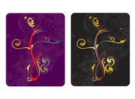 Link toFloral cards designs vector free