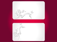 Link toFloral cards templates vector free