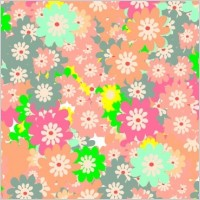 Link toFloral colorful background