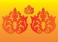 Link toFloral decoration vectors free
