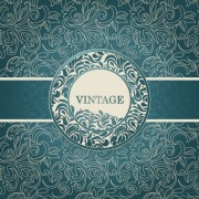 Link toFloral decorative pattern vintage background vector 02 free